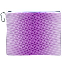 Abstract Lines Background Canvas Cosmetic Bag (xxxl)