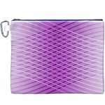 Abstract Lines Background Canvas Cosmetic Bag (XXXL) Front