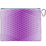 Abstract Lines Background Canvas Cosmetic Bag (XXXL) Back