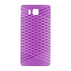 Abstract Lines Background Samsung Galaxy Alpha Hardshell Back Case