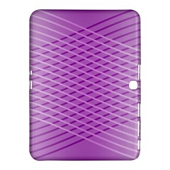 Abstract Lines Background Samsung Galaxy Tab 4 (10 1 ) Hardshell Case
