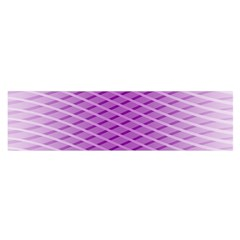 Abstract Lines Background Satin Scarf (oblong)