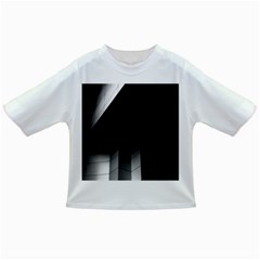 Wall White Black Abstract Infant/toddler T Shirts