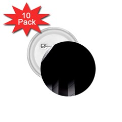 Wall White Black Abstract 1 75  Buttons (10 Pack)