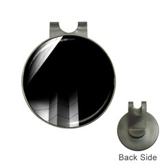 Wall White Black Abstract Hat Clips With Golf Markers