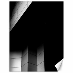 Wall White Black Abstract Canvas 12  X 16
