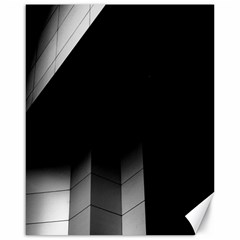 Wall White Black Abstract Canvas 16  X 20