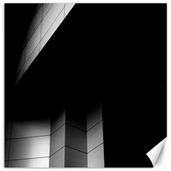 Wall White Black Abstract Canvas 20  X 20