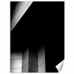 Wall White Black Abstract Canvas 36  X 48
