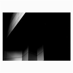 Wall White Black Abstract Large Glasses Cloth