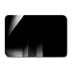 Wall White Black Abstract Plate Mats