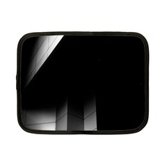 Wall White Black Abstract Netbook Case (small)