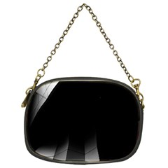 Wall White Black Abstract Chain Purses (one Side)