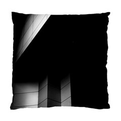 Wall White Black Abstract Standard Cushion Case (two Sides)