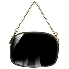 Wall White Black Abstract Chain Purses (two Sides)