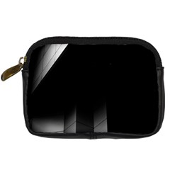 Wall White Black Abstract Digital Camera Cases
