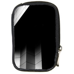 Wall White Black Abstract Compact Camera Cases