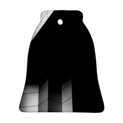 Wall White Black Abstract Ornament (bell)