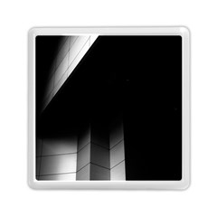 Wall White Black Abstract Memory Card Reader (Square)