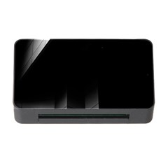 Wall White Black Abstract Memory Card Reader With Cf