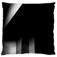 Wall White Black Abstract Large Cushion Case (two Sides)