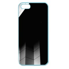 Wall White Black Abstract Apple Seamless Iphone 5 Case (color)