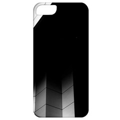 Wall White Black Abstract Apple Iphone 5 Classic Hardshell Case