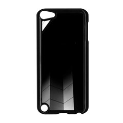 Wall White Black Abstract Apple iPod Touch 5 Case (Black)