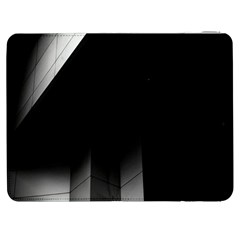 Wall White Black Abstract Samsung Galaxy Tab 7  P1000 Flip Case
