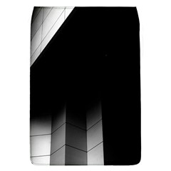 Wall White Black Abstract Flap Covers (L)