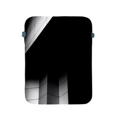Wall White Black Abstract Apple Ipad 2/3/4 Protective Soft Cases