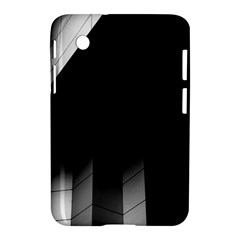 Wall White Black Abstract Samsung Galaxy Tab 2 (7 ) P3100 Hardshell Case
