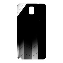 Wall White Black Abstract Samsung Galaxy Note 3 N9005 Hardshell Back Case