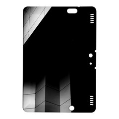 Wall White Black Abstract Kindle Fire Hdx 8 9  Hardshell Case