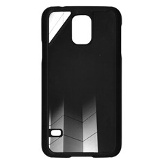 Wall White Black Abstract Samsung Galaxy S5 Case (black)