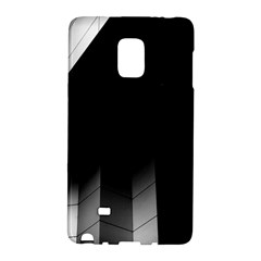 Wall White Black Abstract Galaxy Note Edge