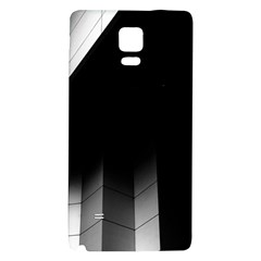 Wall White Black Abstract Galaxy Note 4 Back Case