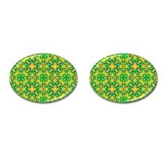 Pattern Cufflinks (Oval)