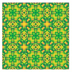 Pattern Large Satin Scarf (Square)