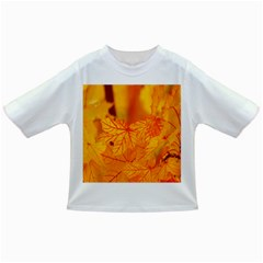 Bright Yellow Autumn Leaves Infant/toddler T Shirts