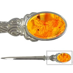Bright Yellow Autumn Leaves Letter Openers