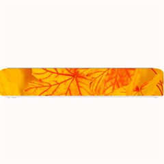 Bright Yellow Autumn Leaves Small Bar Mats