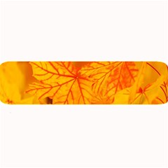 Bright Yellow Autumn Leaves Large Bar Mats