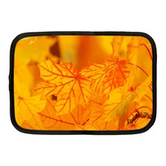 Bright Yellow Autumn Leaves Netbook Case (medium)