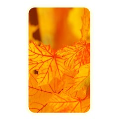 Bright Yellow Autumn Leaves Memory Card Reader