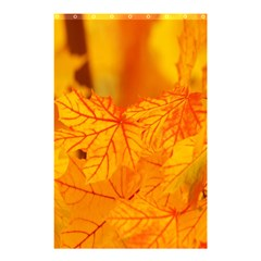 Bright Yellow Autumn Leaves Shower Curtain 48  X 72  (small)