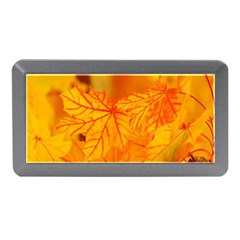 Bright Yellow Autumn Leaves Memory Card Reader (Mini)