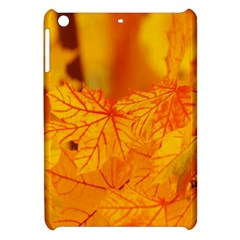 Bright Yellow Autumn Leaves Apple iPad Mini Hardshell Case