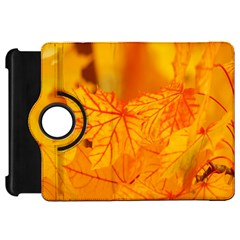 Bright Yellow Autumn Leaves Kindle Fire Hd 7