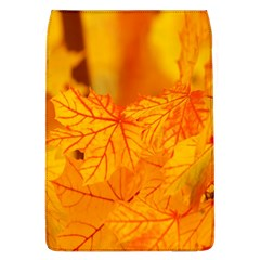 Bright Yellow Autumn Leaves Flap Covers (L)